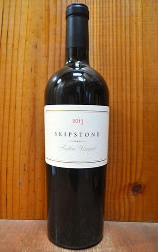 スキップストーン フォルトライン ヴィンヤード 2013 スキップストーン アメリカ カリフォルニア ソノマ アレキサンダー ヴァレー 赤ワイン 辛口 フルボディ 750ml (スキップストーン・フォルトライン・ヴィンヤード)