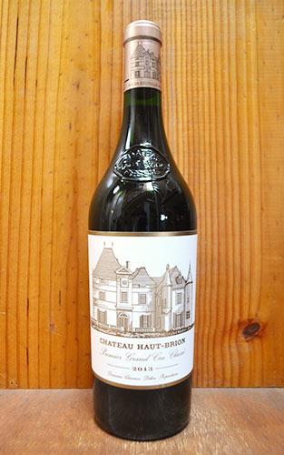 シャトー オー ブリオン 2013 プルミエ グラン クリュ クラッセ 格付第一級 (クリュ クラッセ ド グラーヴ第一級格付) 赤ワイン 辛口 フルボディ 750ml (シャトー・オー・ブリオン)Chateau Haut-Brion [2013] 1er Grand Cru Classe du Graves AOC Pessac-Leognan