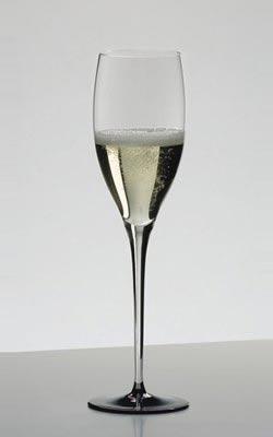 リーデル・ワイングラス・ソムリエ ブラック・タイシリーズ・ヴィンテージ・シャンパーニュ・4100/28・クリスタルガラス・ハンドメイドRIEDEL Wine Glass Sommeliers Black Tie Vintage Champagne 4100/28 Lead Glass Handmade