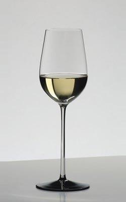 リーデル・ワイングラス・ソムリエ ブラック・タイシリーズ・リースリング・グラン・クリュ・4100/15・クリスタルガラス・ハンドメイドRIEDEL Wine Glass Sommeliers Black Tie Riesling Grand Cru 4100/15 Lead Glass Handmade