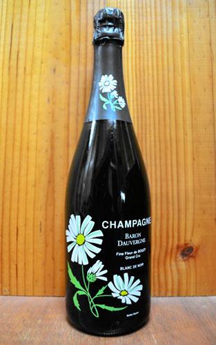 時間指定不可 ショップ オブ ザ イヤー 10年連続受賞店舗 通販 激安◆ バロン ドーヴェルニュ グラン クリュ 特級 ブラン ド ノワール フィーヌ フルール ブジー 超限定品 Fine-Fleur Cru de Blanc Grand ブリュット N.M.生産者元詰正規品Champagne Brut Noir Bouzy AOC Baron Dauvergne Champagne