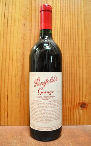 """ペンフォールド・""""グランジ""""[1997]年・蔵出し限定品・ペンフォールド社元詰・正規代理店輸入品Penfolds """"Grange"""" [1997] Penfolds South Australia"""