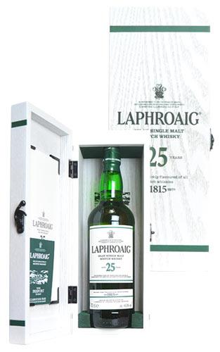 【豪華木箱入】ラフロイグ 25年 アイラ シングル モルト スコッチ ウイスキー 700ml 48.6% ハードリカー