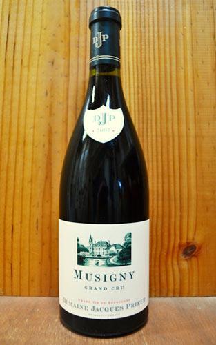 ミュジニー 正規 2012 ジャック プリウール 赤ワイン グラン 750ml クリュ ドメーヌ