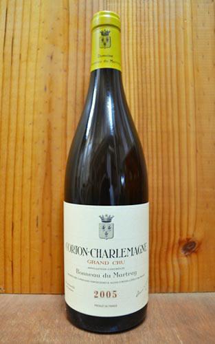 コルトン シャルルマーニュ グラン クリュ 特級 2005 ドメーヌ ボノー デュ マルトレ AOCコルトン シャルルマーニュ グラン クリュ 特級 正規 白ワイン ワイン 辛口 750mlCorton Charlemagne Grand Cru [2005]
