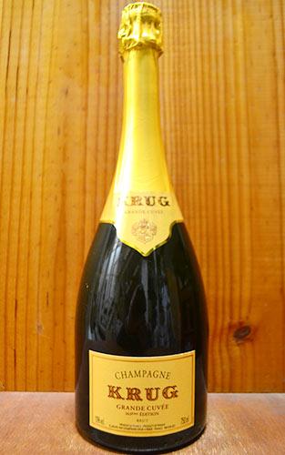 クリュッグ シャンパーニュ グラン キュヴェ ブリュット (エディション166or167) 正規 泡 白 シャンパン ワイン 辛口 750mlKRUG Champagne Grande Cuvee Brut AOC Champagne