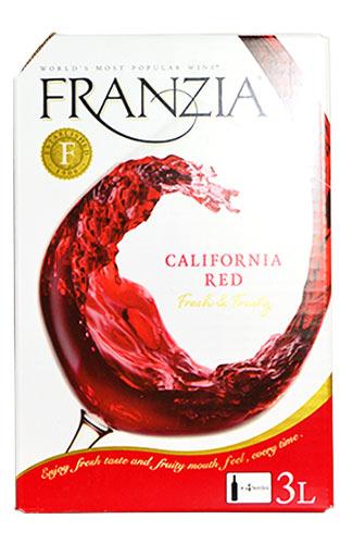 法蘭這個加利福尼亞、紅、紅.3,000ml、包·in·箱(這個葡萄酒·小組)、加利福尼亞·葡萄酒FRANZIA California Red Wine Bag in Box 3,000ml(25-28 Glasses)