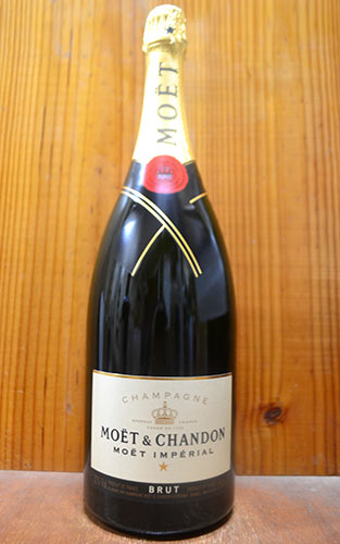 モエ エ シャンドン ブリュット アンペリアル (モエ・エ・シャンドン) フランス AOCシャンパーニュ マグナムサイズ 大型ボトル 泡 シャンパン 正規品 辛口 白 1500mlMoet et Chandon Brut Imperial MG AOC Champagne 1,500ml