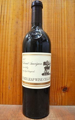 【2本ご購入で送料無料】スタッグスリープ ワイン セラーズ S.L.V カベルネ ソーヴィニヨン 2013 40周年記念ボトル (ワインメーカー ニッキ プリュス) 正規 赤ワイン ワイン 辛口 フルボディ 750mlSTAG'S LEAP WINE CELLARS Cabernet Sauvignon S.L.V [2013] Napa Valley