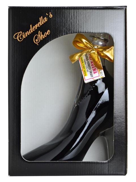灰姑娘鞋水果和酒 350 毫升和 15%灰姑娘伏特加森林水果 LIQUERUR 350 毫升 15%