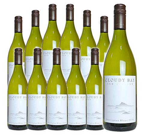 【送料無料・12本セット】ブラン マールバラ 白ワイン 2018 箱なし 750ml×12 CLOUDY BAY Sauvignon Blanc Marlborough [2018]