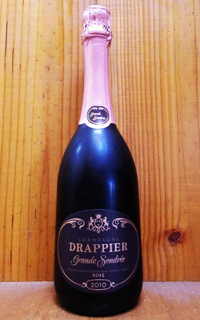 ドラピエ グラン サンドレ ロゼ ブリュット ヴィンテージ2010年 蔵出し限定品 フレンチオーク熟成(トロンセ産) AOCミレジム ロゼ シャンパーニュ 正規品DRAPPIER Champagne Grande Sendree Rose Brut Millesime [2010] AOC Millesime Champagne