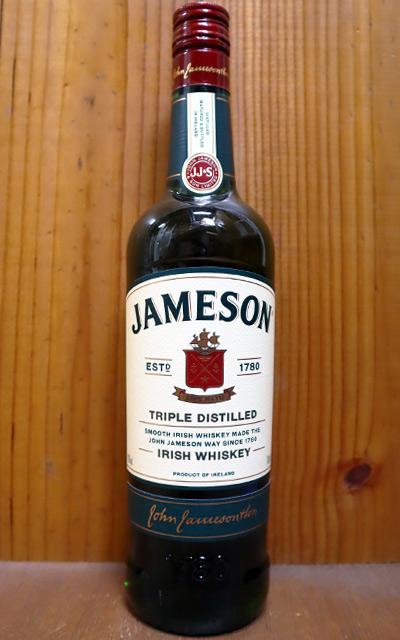 ショップ オブ 出群 ザ イヤー 10年連続受賞店舗 正規品 新作続 ジェムソン アイリッシュウイスキー 正規代理店輸入品 700ml 40% 40% WHISKY ハードリカーJAMESON IRISH