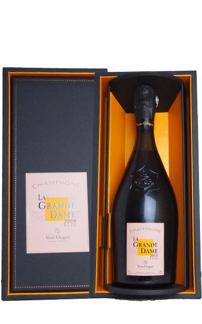 【箱入】ヴーヴ クリコ ラ グラン ダーム ロゼ ヴィンテージ 2008年Veuve Clicquot Ponsardin Champagne LA GRANDE DAME Rose Brut Vintage 2008 AOC Millesime Rose Champagne (DX Gift Box)