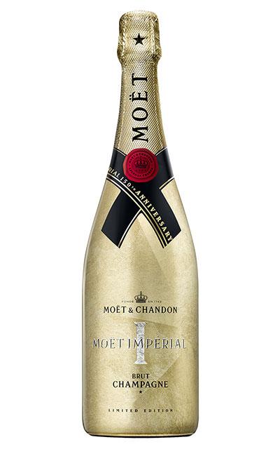 モエ エ シャンドン ブリュット アンペリアル 150年 アニバーサリー(ゴールドボトル)AOCシャンパーニュ 正規代理店輸入品 限定ボトルMoet et Chandon Brut Imperial 150 Anniversary Gold Bottle AOC Champagne