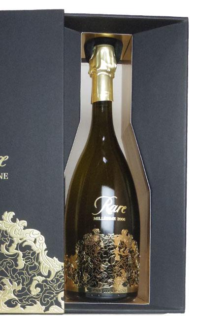 パイパー エドシック シャンパーニュ レア ヴィンテージ 2006年 超限定品 重厚ボトル 超豪華ギフト箱入り 正規代理店輸入品Piper Heidsieck Champagne Rare Vintage Millesime 2006 DX.Gift Box AOC Millesime Champagne