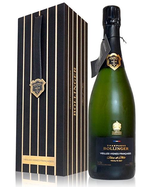 【豪華木箱入】ボランジェ ヴィエイユ ヴィーニュ フランセーズ ブリュット ミレジム 2009年 ブラン ド ノワール シリアルナンバー入り 正規Bollinger Vieilles Vignes Francaises Brut Millesime 2009 AOC Champagne (Blanc de Noirs) (Millesime) Gift Box