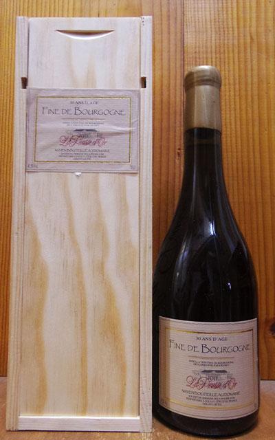 【豪華木箱入り】フィーヌ ド ブルゴーニュ 30年熟成 トランタン ダージュ NV ドメーヌ ド ラ プス ドール元詰(ジェラール ポテル)AOCフィーニュ ド ブルゴーニュFine De Bourgogne 30 ANS D'AGE (GERARD POTEL) NV Domaine Pousse D'or