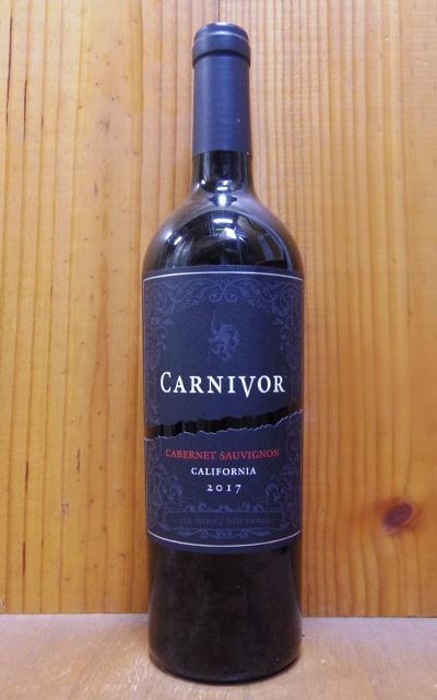 日本正規品 ショップ オブ ザ イヤー 10年連続受賞店舗 6本ご購入で送料 代引無料 大幅にプライスダウン カーニヴォ カベルネ ソーヴィニヨン 2018 ワインズ カリフォルニア 750mlCARNIVOR ローダイ フルボディ wineuki_CNV Sauvignon Wines 赤ワイン Carnivor Cabernet 辛口