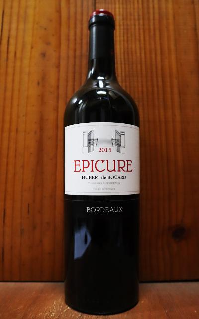 ショップ オブ ザ イヤー 10年連続受賞店舗 エピキュア おしゃれ 2015 赤ワイン 辛口 フルボディ 750ml AOCボルドー アンジェリュスのオーナーとシャトー 新登場 Bernard パプ BORDEAUX Hubert Angelus EPICURE Pujol bouard AOC × クレマンの元醸造長の夢のコラボワイン de Chateau