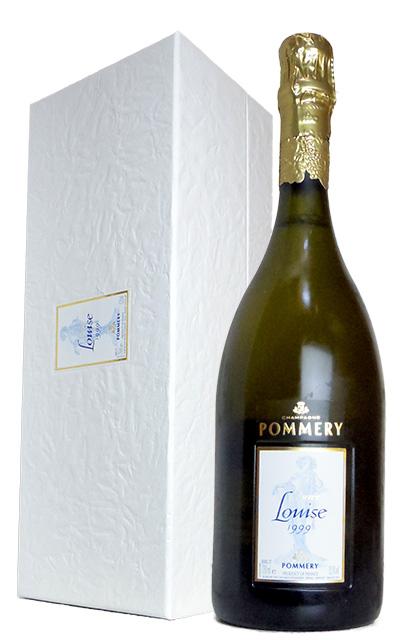 """ルイーズ ポメリー キュヴェ ルイーズ ミレジム 1999年 AOCミレジム シャンパーニュ 豪華ギフト箱入り 直輸入品Champagne Pommery """"Cuvee Louise Pommery"""" Vintage [1999] AOC Millesime Champagne Gift Box"""
