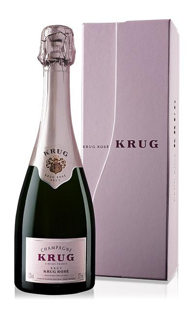 クリュッグ ロゼ 正規 箱付 ハーフ 375ml シャンパン シャンパーニュ・セレブ御用達!あの!マドンナも愛飲する高級ロゼ・シャンパーニュKrug Champagne Rose Brut Half Size