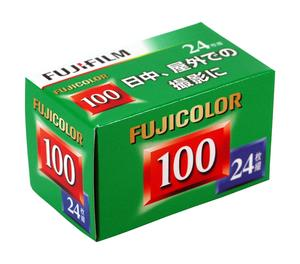 セールSALE%OFF 自然な色再現 日中 屋外での撮影に 富士フィルム 35mmフィルム FUJICOLOR 24枚撮り 24EX1 135 FUJICOLOR-S 100 輸入