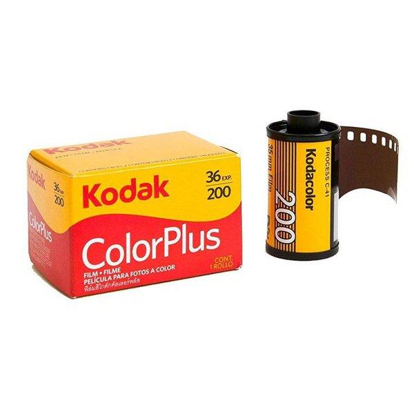 Kodak コダック カラーネガフィルム 送料無料でお届けします カラープラス 保障 ColorPlus 36枚撮 英文パッケージ 36EX 単品 200