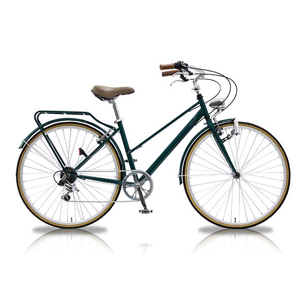 【受発注品】阪和 TRAILER(トレイラー) 700C シティーバイク 6段変速 ORTER グリーン/レッド TR-CT701