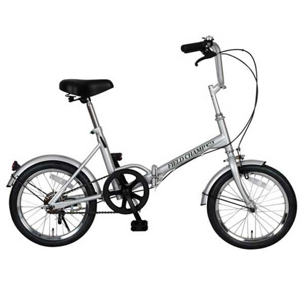 【送料無料】ミムゴ 16インチ 折りたたみ自転車 FIELD CHAMP365 FDB16 シルバー No.72750【受発注品】【代引不可】
