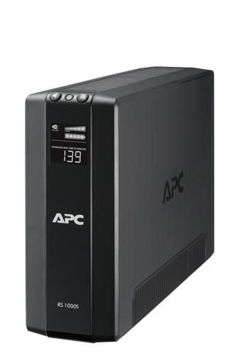 【受発注商品】APC RS 1000VA Sinewave Battery Backup 100V BR1000S-JP