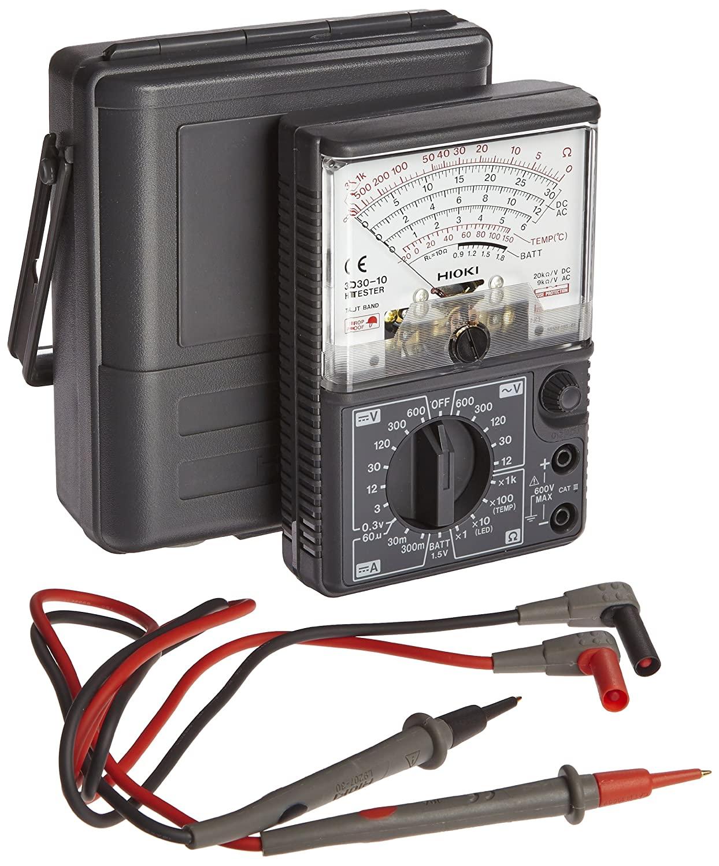 アナログテスター 電流 電圧 いよいよ人気ブランド 抵抗 メータの動きで把握しやすい 根強い人気のアナログテスタ 20kΩ 3030-10 祝日 V 日置電機 受発注品 ハイテスタ