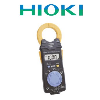 【受発注品】 HIOKI(日置電機)クランプオンAC/DCハイテスタ 3287 最軽量 交・直両用クランプ電流計