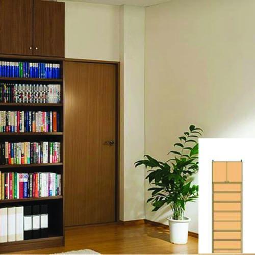 オフィス本棚 書類本棚 壁面本棚 M3 【オーダー収納】教科書 ファイルなどの収納に リフォーム材料 オフィス本棚 奥行40cm高さ232~241cm幅45~59cm タフ棚板(厚さ2.5cm) オフィス本棚