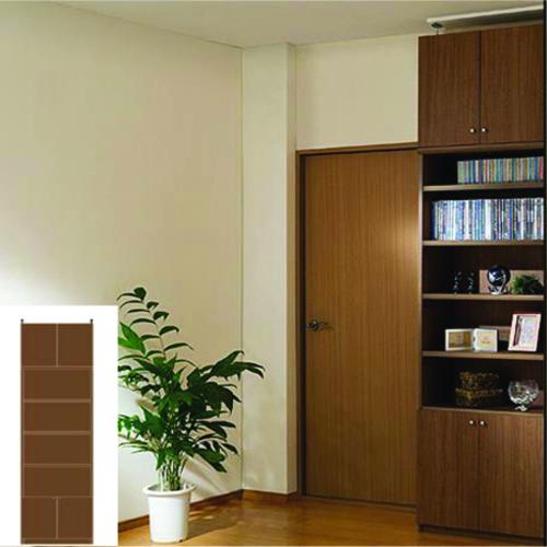 多目的収納 大容量書庫 ファイル本棚 G2 【オーダー収納】タオル 教科書などの収納に 組立家具 壁面収納 高さ265.1~274.1cm幅60~70cm奥行31cm 標準棚板(厚さ1.7cm)