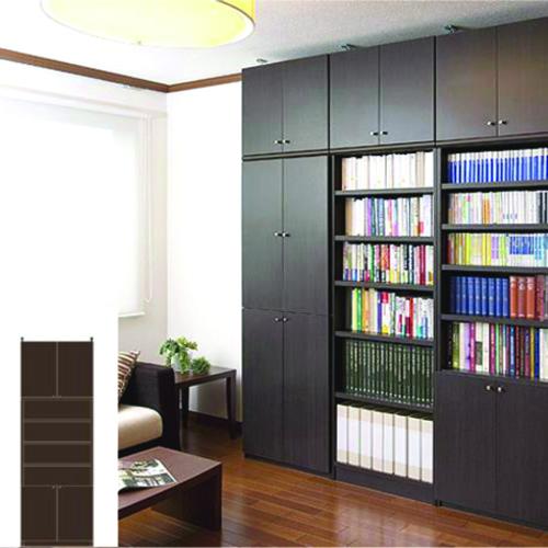 組み立て収納 薄型壁面DVD棚 薄型本棚 G2 【オーダー収納】レコード ファイルなどの収納に 組立家具 突っ張り収納 高さ250~259cm幅60~70cm奥行19cm 標準棚板(厚さ1.7cm)
