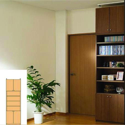 最適な価格 扉付き書棚 天井つっぱり壁面収納 大容量収納 G3 【オーダー書庫】コミック 本などの収納に 組立家具 天井つっぱり壁面収納 多目的本棚 奥行31cm高さ241~250cm幅45~59cm タフ棚板(厚さ2.5cm) 壁面本棚, アイヅホンゴウマチ 482df178