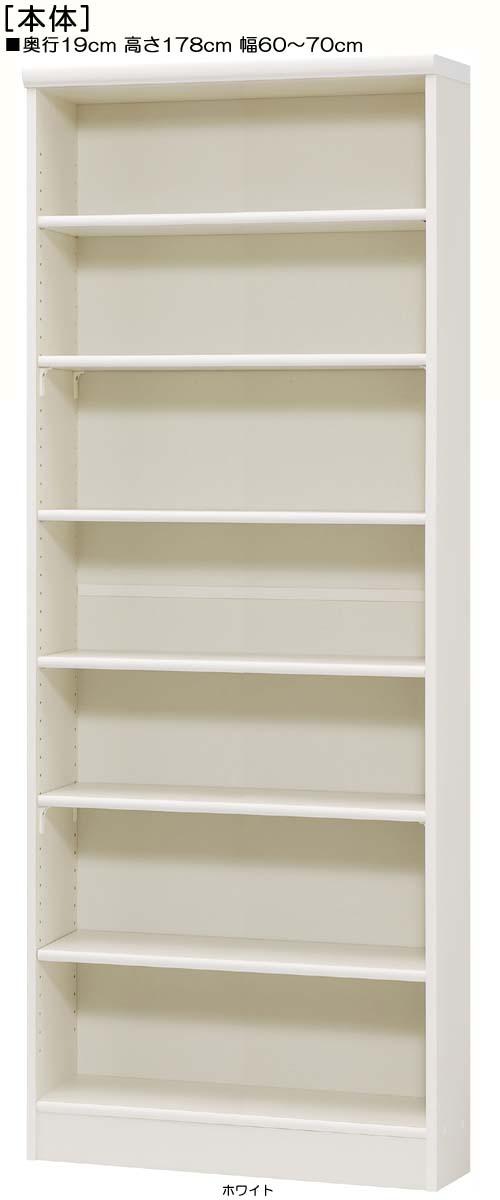 文庫本収納 高さ178cm幅60~70cm奥行19cmDVDディスプレイ 学校ボード 幅1cm単位でオーダー 標準棚板収納 文庫本収納