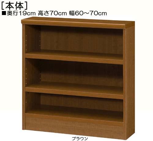 カウンター下収納 高さ70cm幅60~70cm奥行19cm厚棚板(棚板厚み2.5cm)DVDディスプレイ ロビー収納 幅を1cm単位でご指定 丈夫な棚板ラック カウンター下収納