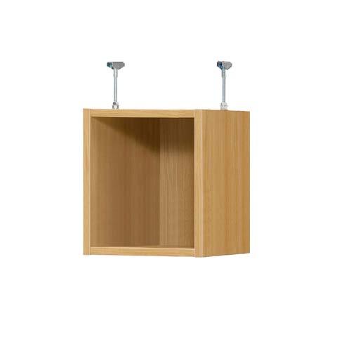 突っ張り上置き棚 上棚(高さ調整可) 標準タイプ 中深 高さ39~48cm幅25~29cm奥行38.5cm(本体奥行40cm用)空き箱収納 幅を1cm単位でご指定 季節用品を片付け 突っ張り上置き棚