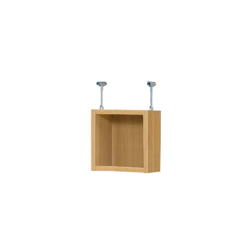 上置きラック 上棚(高さ調整可) タフタイプ 薄型 高さ30~39cm幅15~24cm奥行17.5cm(本体奥行19cm用)季節用品収納 キッチン棚 幅オーダー1cm単位 季節ごとに使う鞄などの収納に整理