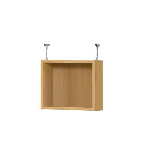 上棚 上棚(高さ調整可) タフタイプ 薄型 高さ39~48cm幅30~44cm奥行17.5cm(本体奥行19cm用)空き箱棚 集会所収納 幅を1cm単位でご指定 普段使わない物の収納に保管