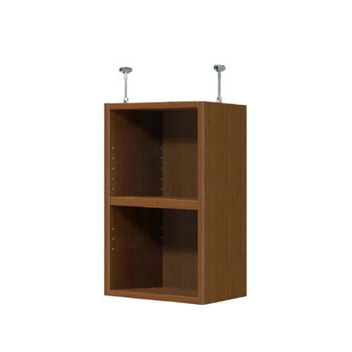 天井棚 上棚(高さ調整可) タフタイプ 奥深 高さ63~72cm幅25~29cm奥行44.5cm(棚板厚み2.5cm)(本体奥行46cm用)文庫本棚 客間棚 幅を1cm単位でご指定 季節ごとに使う帽子などの収納に整理