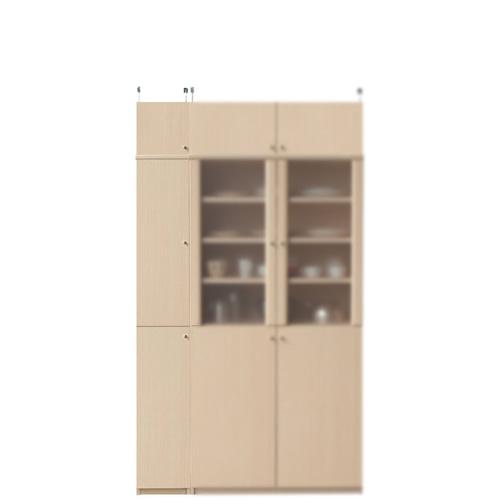 薄型食品保管棚高さ208~217cm幅25~29cm奥行19cm厚棚板(棚板厚2.5cm)(高さ=ラック高さ178cm+突っ張り棚高さ23cm+伸縮突っ張り金具)木製片開き扉薄型食品保管棚