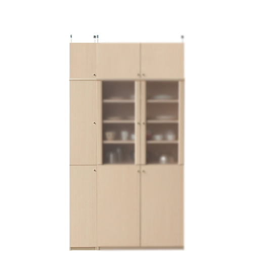 薄型キッチンスリムストッカー高さ217~226cm幅25~29cm奥行19cm(高さ=ラック高さ178cm+突っ張り棚高さ32cm+伸縮突っ張り金具)木製片開き扉薄型キッチンスリムストッカー