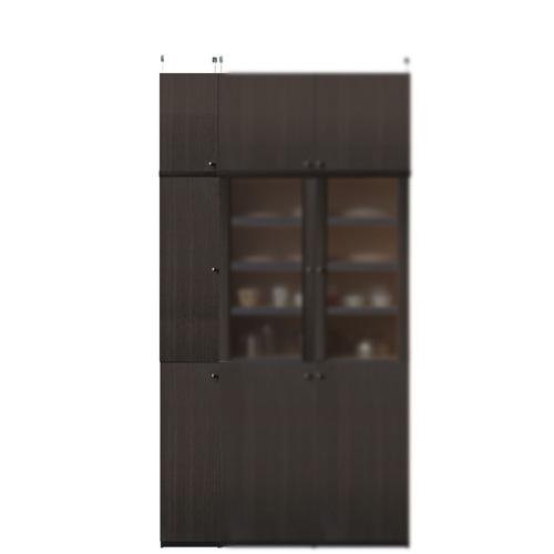 薄型キッチンキャビネット高さ226~235cm幅25~29cm奥行19cm(高さ=ラック高さ178cm+突っ張り棚高さ41cm+伸縮突っ張り金具)木製片開き扉薄型キッチンキャビネット