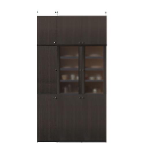 薄型台所収納棚高さ232~241cm幅30~44cm奥行19cm厚棚板(棚板厚2.5cm)(高さ=ラック高さ178cm+突っ張り棚高さ47cm+伸縮突っ張り金具)木製片開き扉薄型台所収納棚