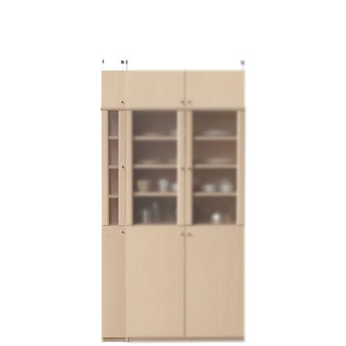 半透明扉付スリム食器棚高さ208~217cm幅15~24cm奥行31cm厚棚板(棚板厚2.5cm)(高さ=ラック高さ178cm+突っ張り棚高さ23cm+伸縮突っ張り金具)半透明片開き扉半透明扉付スリム食器棚