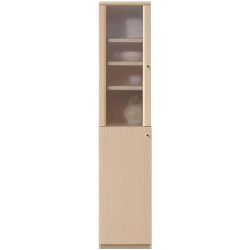 キッチン隙間収納 ミスト扉 高さ178cm幅25~29cm奥行31cm厚棚板(棚板厚み2.5cm) 上下共片開き(左開き/右開き) 廊下スリムディスプレイ