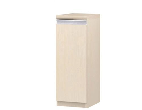 フラット扉全面扉付木製本箱 高さ70cm幅15~24cm奥行40cm 片開き(左開き/右開き) フラット扉付納戸本棚